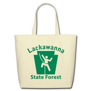 Lackawanna State Forest Keystone Climber - Eco-Friendly Cotton Tote