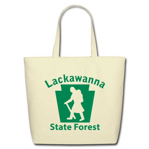 Lackawanna State Forest Keystone Hiker (female) - Eco-Friendly Cotton Tote