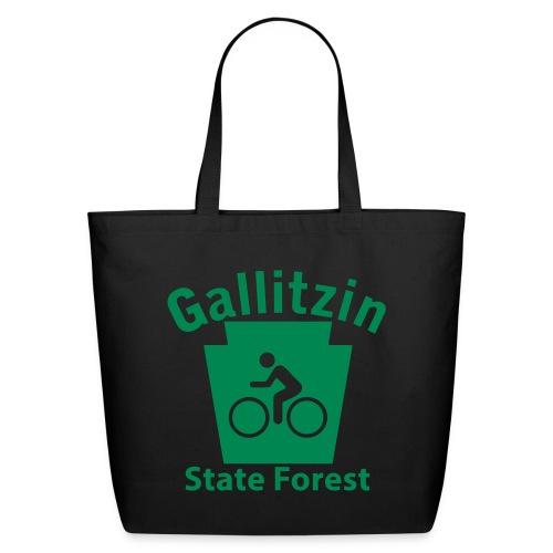 Gallitzin State Forest Keystone Biker - Eco-Friendly Cotton Tote