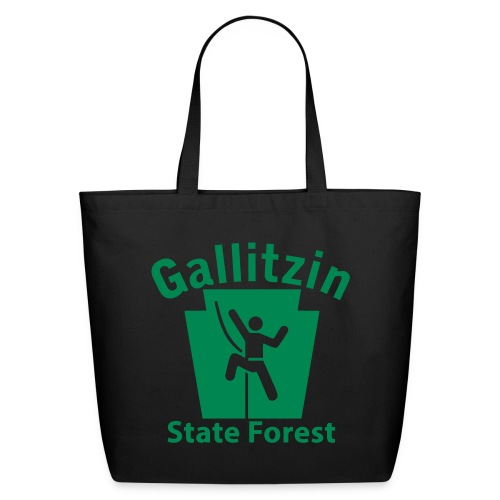 Gallitzin State Forest Keystone Climber - Eco-Friendly Cotton Tote