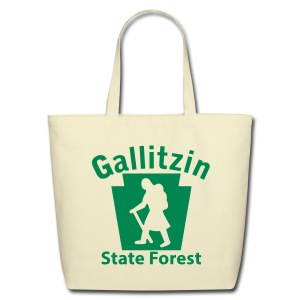 Gallitzin State Forest Keystone Hiker (female) - Eco-Friendly Cotton Tote