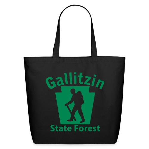 Gallitzin State Forest Keystone Hiker (male) - Eco-Friendly Cotton Tote