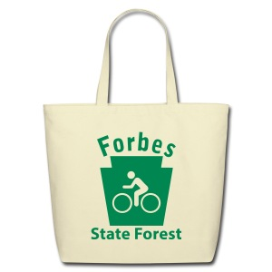 Forbes State Forest Keystone Biker - Eco-Friendly Cotton Tote