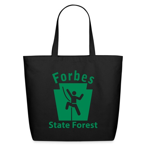 Forbes State Forest Keystone Climber - Eco-Friendly Cotton Tote