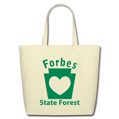 Forbes State Forest Keystone Heart - Eco-Friendly Cotton Tote