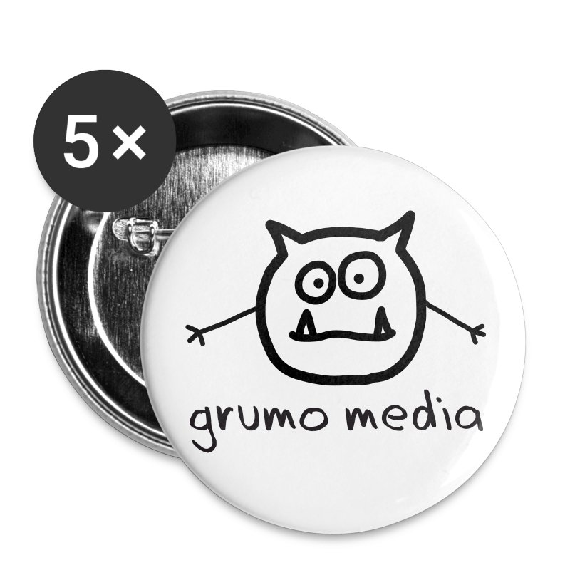 Grumo Media - 2 Large Button - Large Buttons