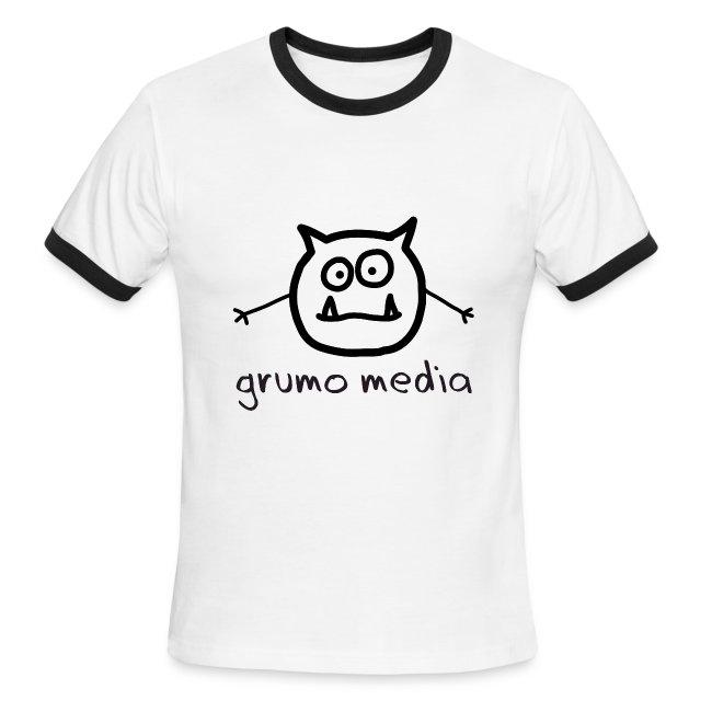 Grumo Media - Ringer Tee for Men