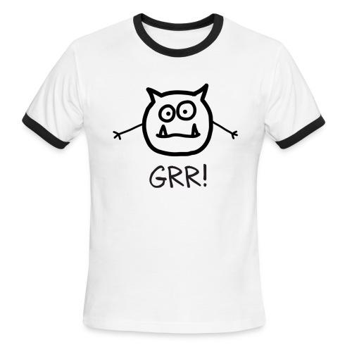 Grumo GRR! - Men Ringer - Men's Ringer T-Shirt