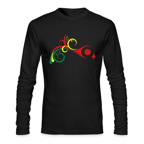 SWI-006 Swirls Mens LS Tee - Men's Long Sleeve T-Shirt by Next Level
