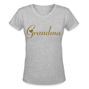Grandma - Women's V-Neck T-Shirt