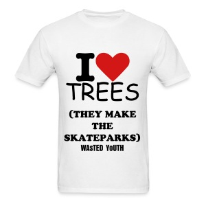 I HEART TREES - Men's T-Shirt
