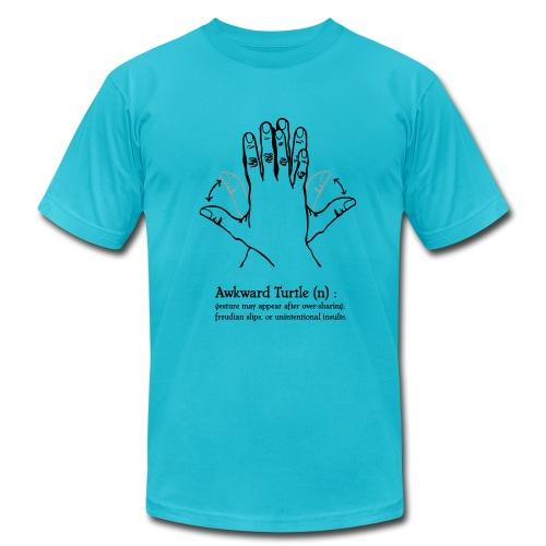 Mens' Awkward Turtle RingerTee - Men's Fine Jersey T-Shirt
