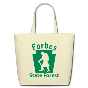 Forbes State Forest Keystone Hiker (female) - Eco-Friendly Cotton Tote