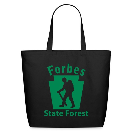 Forbes State Forest Keystone Hiker (male) - Eco-Friendly Cotton Tote