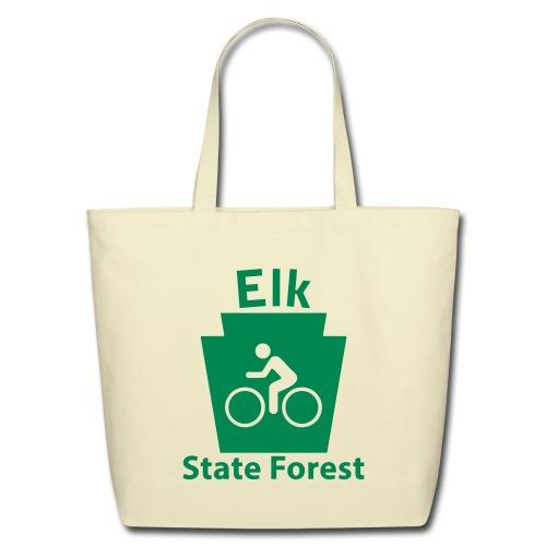 Elk State Forest Keystone Biker - Eco-Friendly Cotton Tote