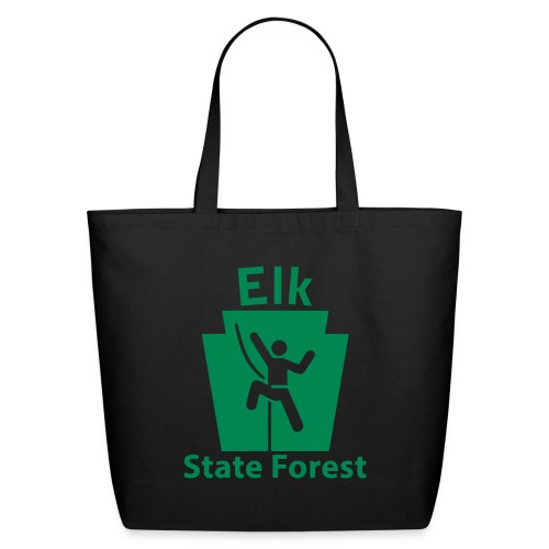 Elk State Forest Keystone Climber - Eco-Friendly Cotton Tote