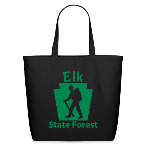 Elk State Forest Keystone Hiker (male) - Eco-Friendly Cotton Tote