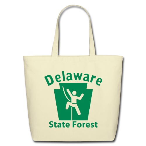 Delaware State Forest Keystone Climber - Eco-Friendly Cotton Tote