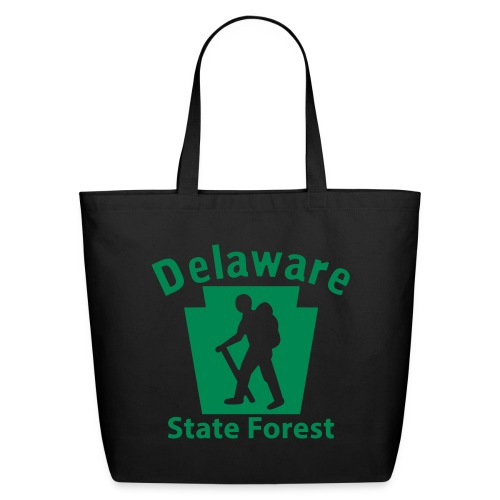 Delaware State Forest Keystone Hiker (male) - Eco-Friendly Cotton Tote