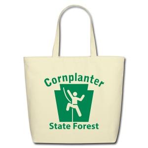 Cornplanter State Forest Keystone Climber - Eco-Friendly Cotton Tote