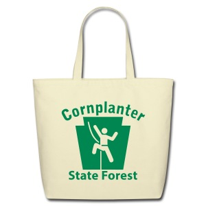 Cornplanter State Forest Keystone Climber - Eco-Friendly Cotton Tote
