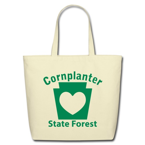 Cornplanter State Forest Keystone Heart - Eco-Friendly Cotton Tote