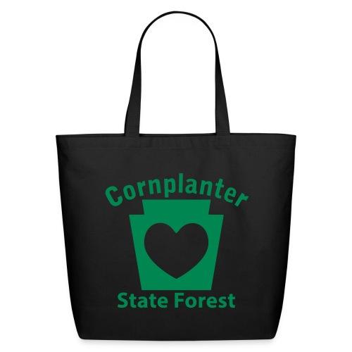 Cornplanter State Forest Keystone Heart - Eco-Friendly Cotton Tote