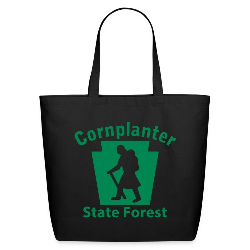 Cornplanter State Forest Keystone Hiker (female) - Eco-Friendly Cotton Tote