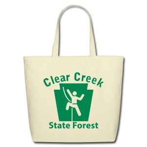 Clear Creek State Forest Keystone Climber - Eco-Friendly Cotton Tote
