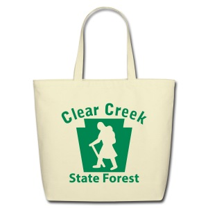 Clear Creek State Forest Keystone Hiker (female) - Eco-Friendly Cotton Tote