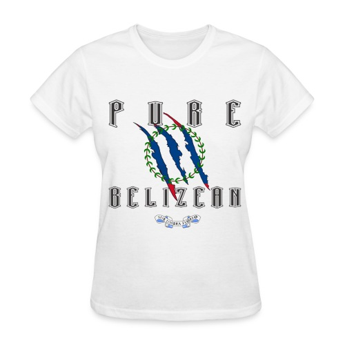 Pure Belizean - Women  - Women's T-Shirt