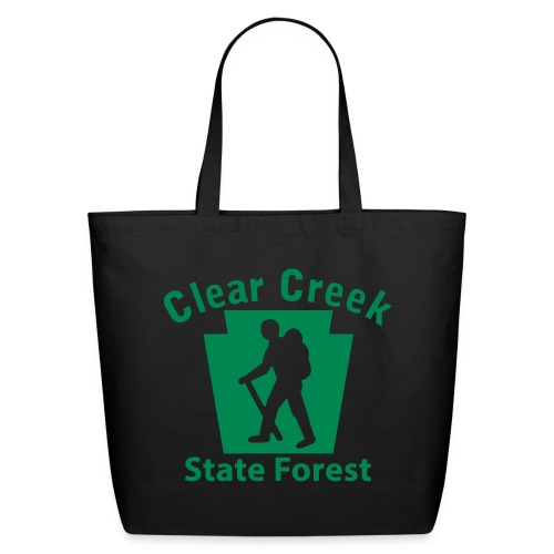 Clear Creek State Forest Keystone Hiker (male) - Eco-Friendly Cotton Tote