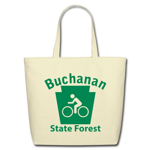 Buchanan State Forest Keystone Biker - Eco-Friendly Cotton Tote