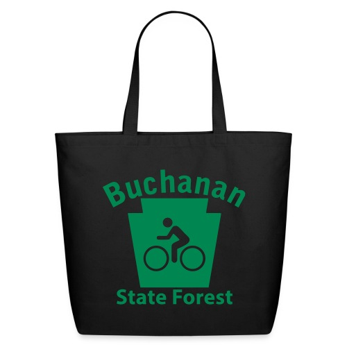 Buchanan State Forest Keystone Biker - Eco-Friendly Cotton Tote