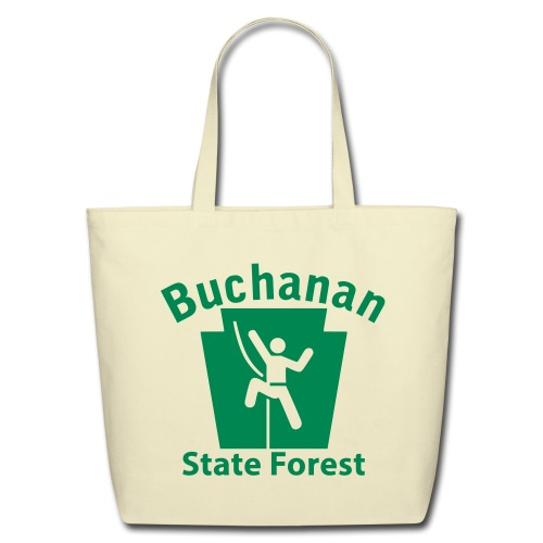Buchanan State Forest Keystone Climber - Eco-Friendly Cotton Tote