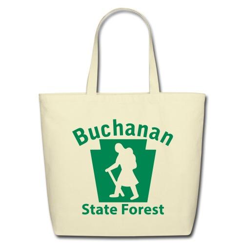 Buchanan State Forest Keystone Hiker (female) - Eco-Friendly Cotton Tote