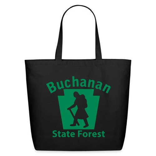 Buchanan State Forest Keystone Hiker (female) - Eco-Friendly Cotton Tote