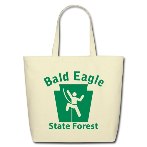 Bald Eagle State Forest Keystone Climber - Eco-Friendly Cotton Tote