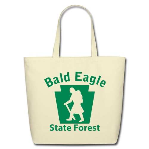 Bald Eagle State Forest Keystone Hiker (female) - Eco-Friendly Cotton Tote