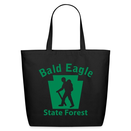 Bald Eagle State Forest Keystone Hiker (male) - Eco-Friendly Cotton Tote