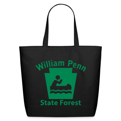 William Penn State Forest Keystone Boat - Eco-Friendly Cotton Tote