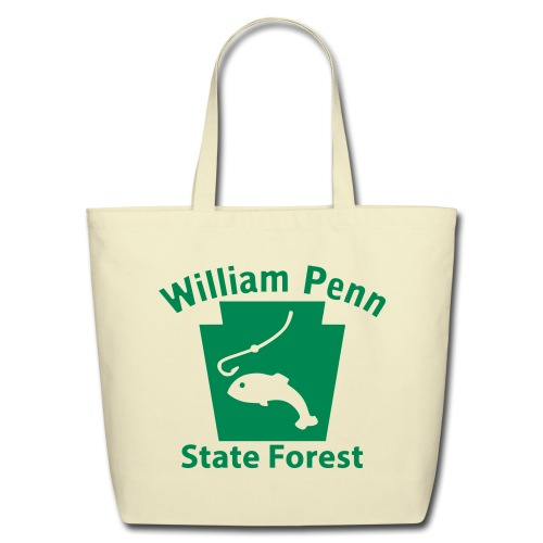 William Penn State Forest Keystone Fish - Eco-Friendly Cotton Tote