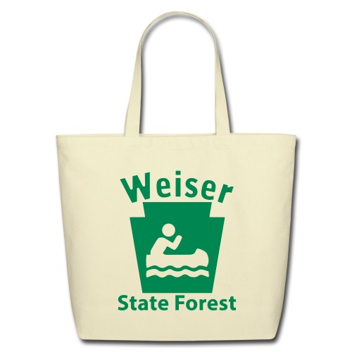 Weiser State Forest Keystone Boat - Eco-Friendly Cotton Tote