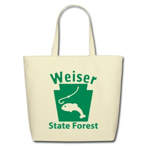 Weiser State Forest Keystone Fish - Eco-Friendly Cotton Tote