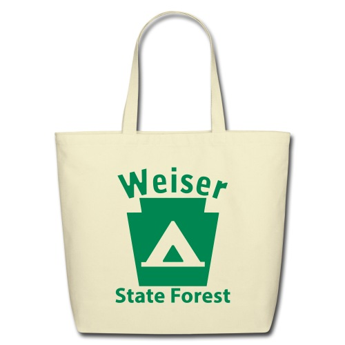 Weiser State Forest Keystone Camp - Eco-Friendly Cotton Tote