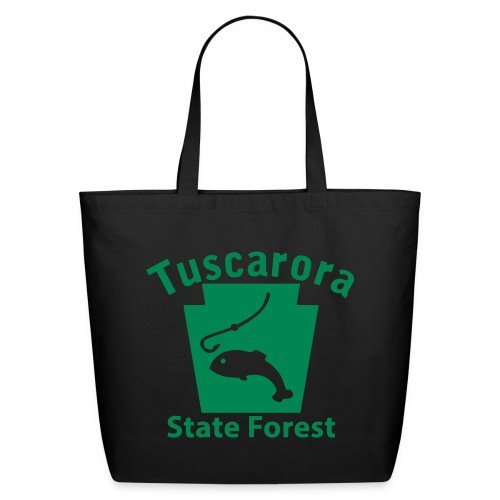 Tuscarora State Forest Keystone Fish - Eco-Friendly Cotton Tote