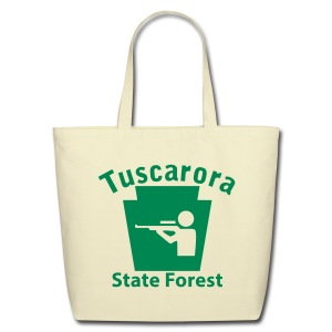 Tuscarora State Forest Keystone Hunt - Eco-Friendly Cotton Tote