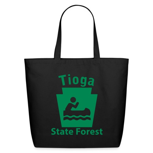 Tioga State Forest Keystone Boat - Eco-Friendly Cotton Tote
