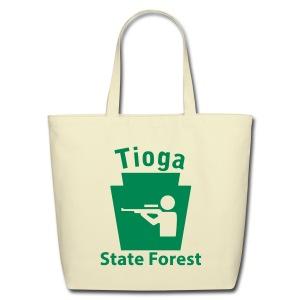 Tioga State Forest Keystone Hunt - Eco-Friendly Cotton Tote