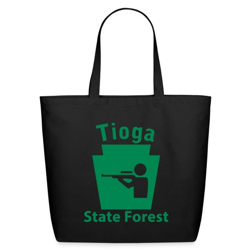 Tioga State Forest Keystone Hunt - Eco-Friendly Cotton Tote